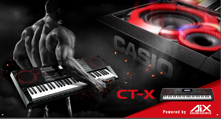 Casio CT-X New Models with AiX Sound