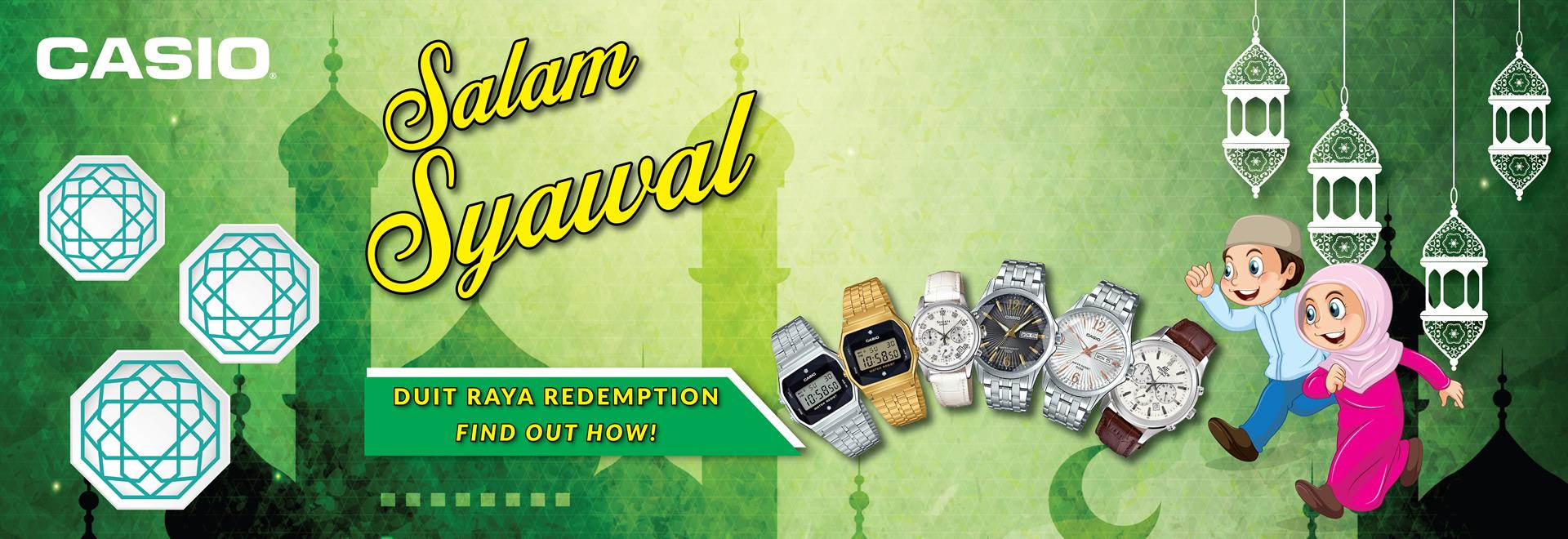 Hari Raya Campaign: Salam Syawal