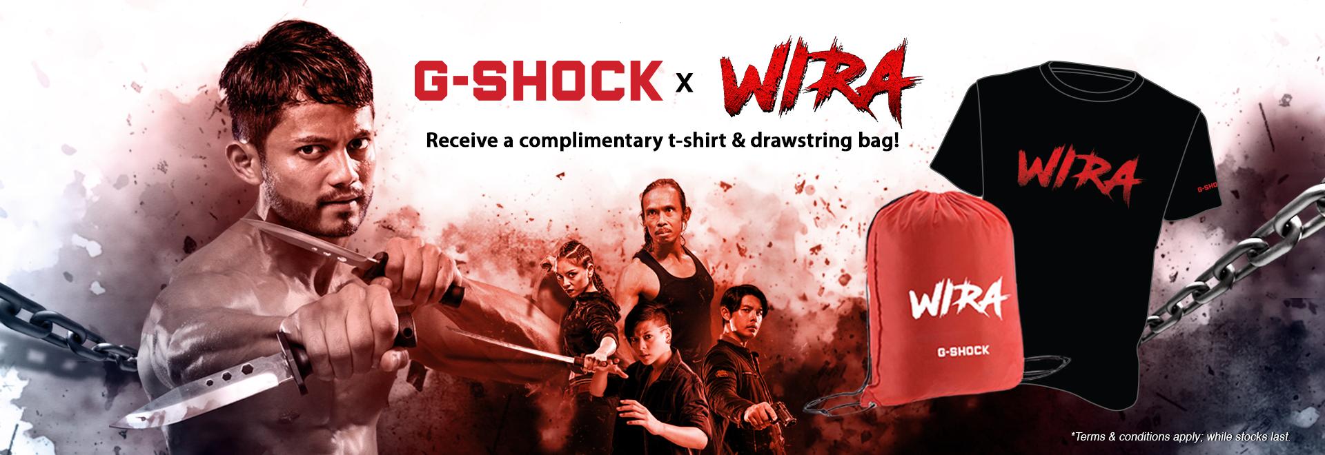 G-SHOCK x WIRA Banner