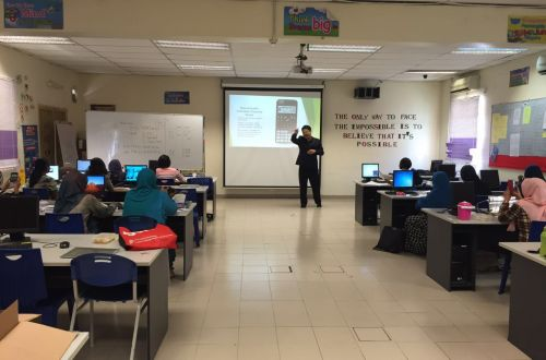 CASIO Calculator - Classwiz Workshop in SMK Kepong