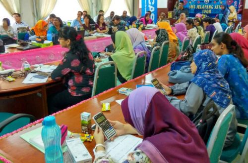 CASIO Calculator - Classwiz Workshop in SMK Jelapang Ipoh
