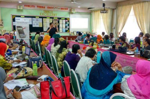 CASIO Calculator - Classwiz Workshop in SMK Jelapang Ipoh