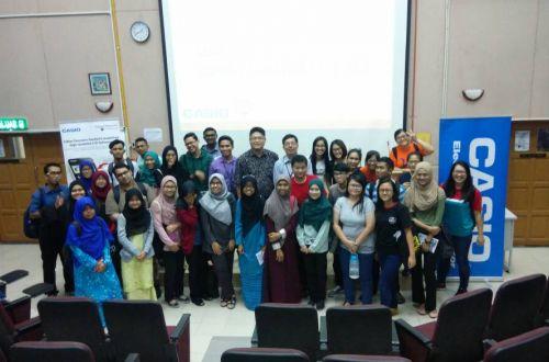 CASIO Calculator - Classwiz Workshop in University Malaya