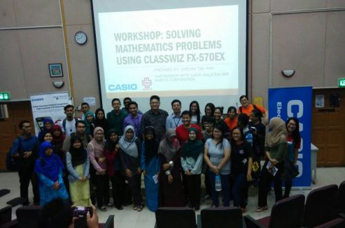 CASIO Calculator - Classwiz Workshop in University Malaya