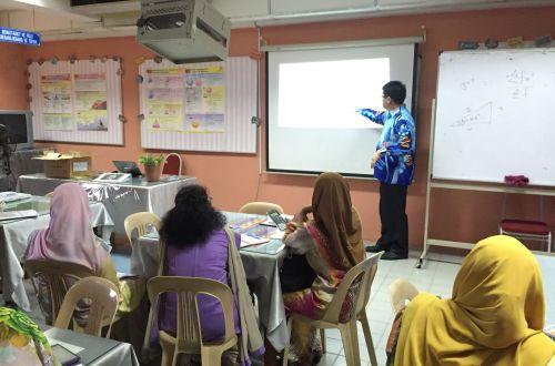 CASIO Calculator - Classwiz Workshop in SMK Saujana Utama