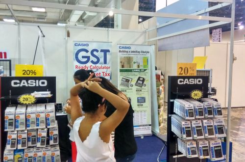 CASIO Calculator - World of Chinese Bookfair 2016