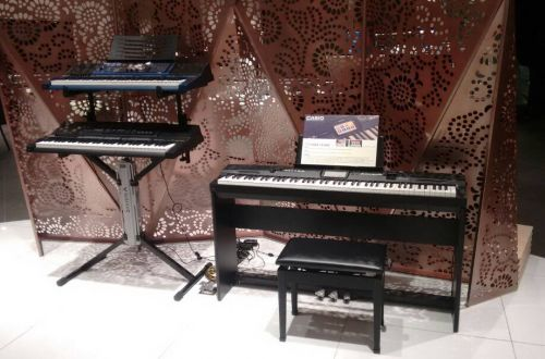 Casio Musical Instruments Roadshow @ Isetan The Japan Store (Lot 10)