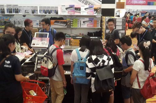 Casio Musical Instruments @ Popular Bookfest 2017