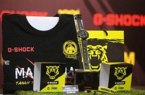 Partnership between G-SHOCK and FAM!